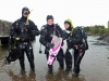 dsd_padi_provdyk_pernilla_linda_nicklas_atlantis_dive_college_diving_sweden